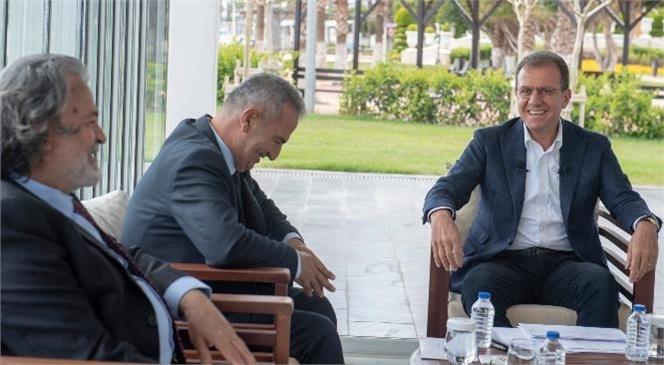 """Başkan Seçer: """"Mersin'in Gündeminde Ayrımcılık Yok"""""""