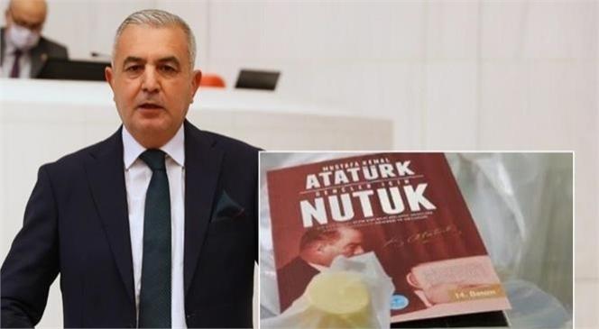 Mersin Milletvekili Baki Şimşek Nutuk Kitabının Dağıtılmasının Engellenmek İstenmesine Tepki Gösterdi
