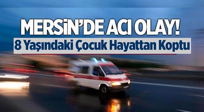 Tarsus'ta Traktör Bisiklete Çarptı 8 Yaşındaki Çocuk Hayatını Kaybetti