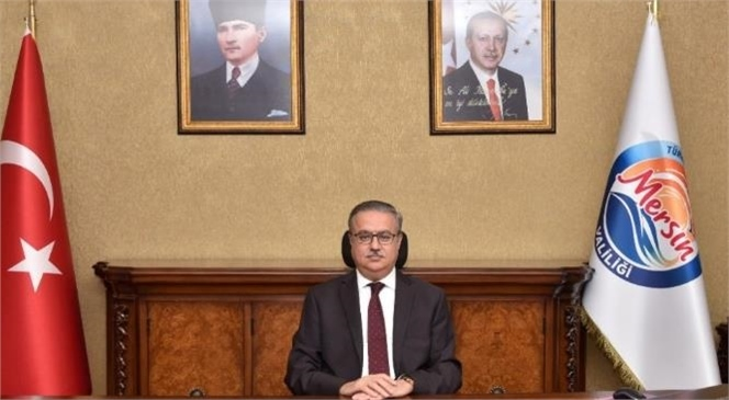 Mersin Valisi Ali İhsan Su Türkiye Büyük Millet Meclisi'nin 101. Kuruluş Yıl Dönümünü ve Ulusal Egemenlik ve Çocuk Bayramını Kutladı