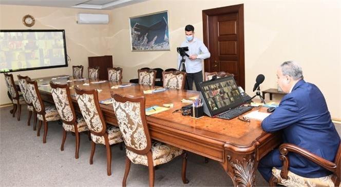 Mersin İl İstihdam ve Mesleki Eğitim Kurulu Vali Su Başkanlığında Toplandı