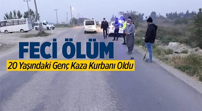 Tarsus Alifakı Köy Yolunda Meydana Gelen Kazada 20 Yaşındaki Genç Hayatını Kaybetti
