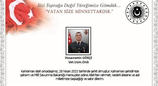 Milli Savunma Bakanlığı 1 Askerimizin Şehit 2 Askerimizin Yaralı Olduğunu Açıkladı
