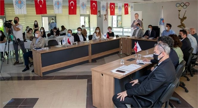 """Mersin Büyükşehir Belediyesi, Hollanda Büyükelçiliği Tarafından Yürütülen """"Türkiye'nin Yeşil Hikâyeleri"""" Programı Kapsamında 'yeşil Başlangıçlar Çalıştayı' Düzenledi"""
