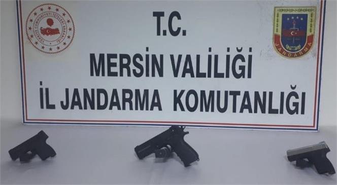 Mersin İl Jandarma Komutanlığı Ekipleri Silah Kaçakçılarına Operasyon Düzenledi