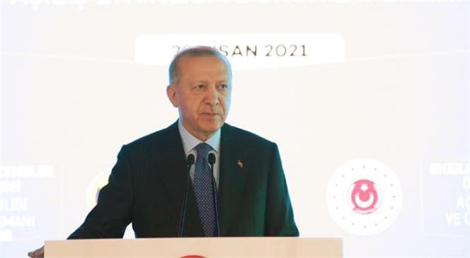 """Cumhurbaşkanı Erdoğan """"İhtiyaç Sahibi Ailelere Hane Başı Verilen Nakdi Yardımı Yeniden Başlatıyoruz"""""""