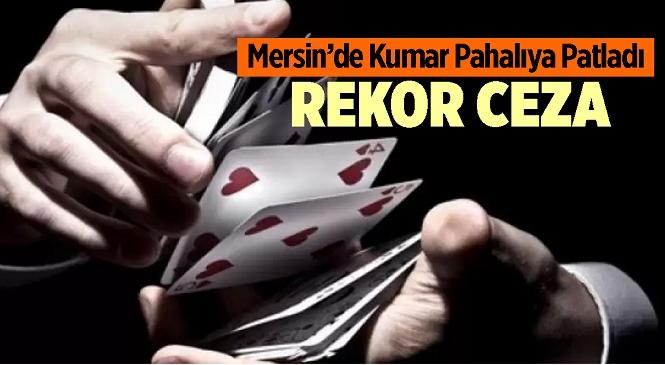 Mersin'in Tarsus İlçesinde Kumar Oynayan 14 Kişiye 44 Bin 100 TL Para Cezası Kesildi