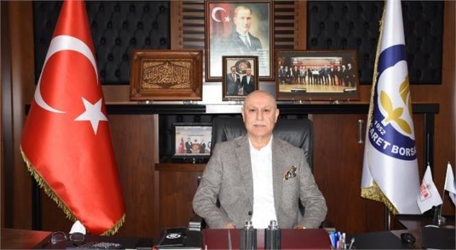 Tarsus Ticaret Borsası Başkanı Murat Kaya Ramazan Bayramı Nedeniyle Mesaj Yayımladı