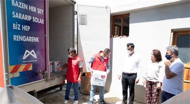 Mersin Büyükşehir Belediyesi Yörük Aşiretlerine Göç Uğurlamasında Bulundu