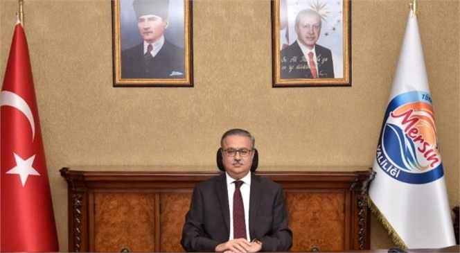 Mersin Valisi Ali İhsan Su, Ramazan Bayramı Dolayısıyla Kutlama Mesajı Yayımladı