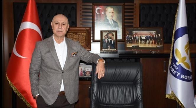 19 Mayıs Atatürk'ü Anma Gençlik ve Spor Bayramı Dolayısıyla Tarsus Ticaret Borsası Başkanı Murat Kaya Kutlama Mesajı Yayımladı