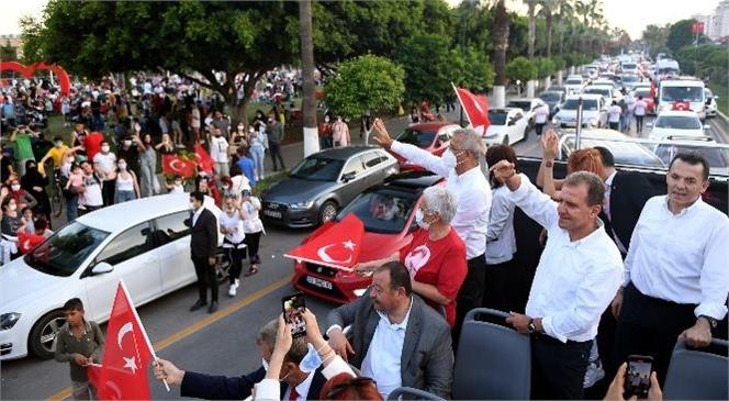 Başkanlardan Mersin'e Yaraşır Bayram Kutlaması