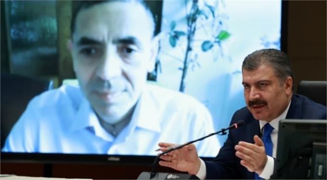 Sağlık Bakanı Dr. Fahrettin Koca, Koronavirüs Bilim Kurulu Toplantısı Sonrası Düzenlenen Basın Toplantısında Açıklamalarda Bulundu