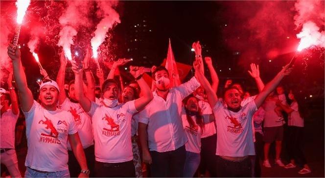 Mersin, 19 Mayıs'ı Bu Sene Dolu Dolu Kutladı