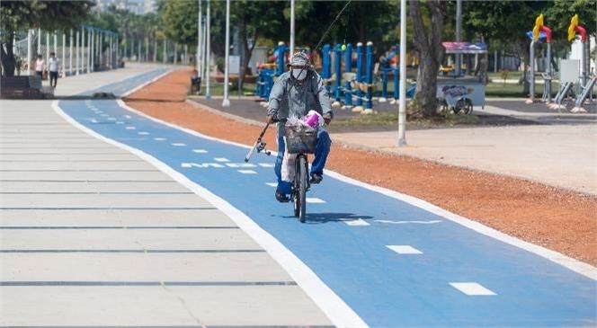 18.2 Kilometrelik Bisiklet Yolu Projesi'nin % 80'i Tamamlandı