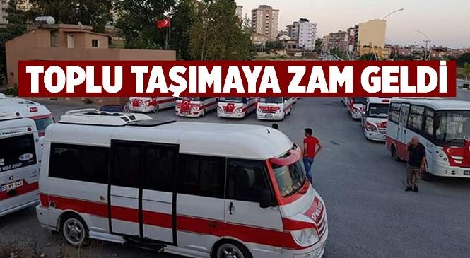 Mersin'in Tarsus İlçesinde Yolcu Taşıma Ücretlerine Zam Geldi