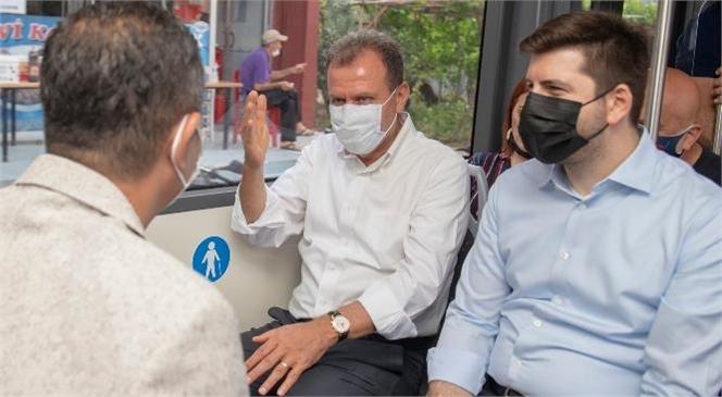 Mersin Büyükşehir Belediye Başkanı Vahap Seçer, Cuma Günkü Mesaisini Tarsus İlçesine Ayırdı