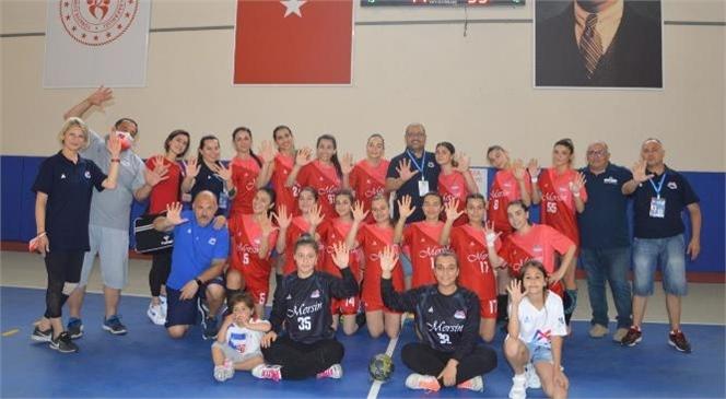 Mersin Büyükşehir Kadın Hentbol Takımı 1. Lig'e Yükseldi