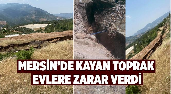 Mersin'in Silifke İlçesinde Toprak Kayması Meydana Geldi