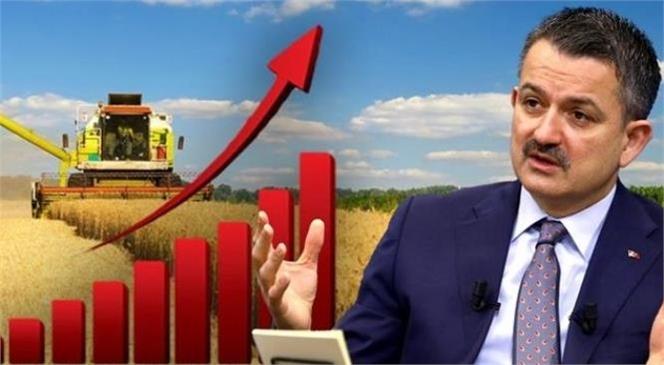 """Bakan Pakdemirli; """"2021 Yılı İlk Çeyreğinde Yüzde 7,5 Büyüyen Tarım Sektörü, Kesintisiz 10 Çeyrektir Büyüyor"""""""