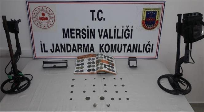 Mersin Tarsus'ta Tarihi Eser Kaçakçılığı Yapan 2 Şüpheli Şahıs Yakalandı