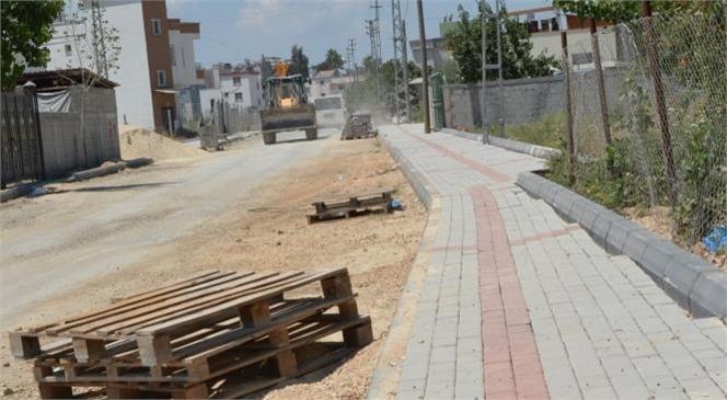 Yenice'nin Caddelerini Yeniliyor