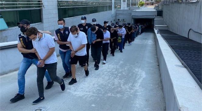 Mersin Merkezli 18 İlde Düzenlenen Yasa Dışı Bahis Operasyonunda 35 Şüpheli Tutuklandı