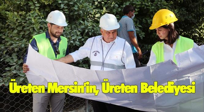 Üreten Mersin'in, Üreten Belediyesi Erdemli! Üreten Eller Kazandırıyor