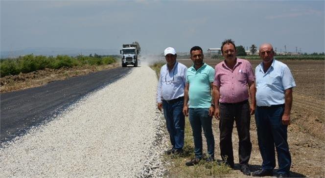 Tarsus Halitağa - Egemen Grup Yolunda Çalışma! Mersin Üretici ve Vatandaşların Sıklıkla Kullandığı 22 Kilometrelik Yol Yenileniyor