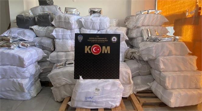 Silifke KOM Grup Amirliği Tarafından 1 Ton 800 Kg Gümrük Kaçağı Çay Ele Geçirildi
