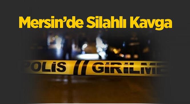 Mahallede Silahlı Kavga! Kavganın Yaşandığı Sokakta Çok Sayıda Mermi Bulundu, Yaralanan Şahıs Hastaneye Kaldırıldı