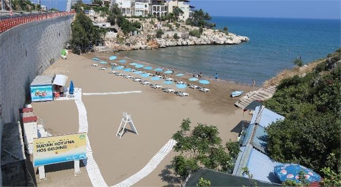 Mersin Büyükşehir'in 9 Plajı da Yaza Hazır