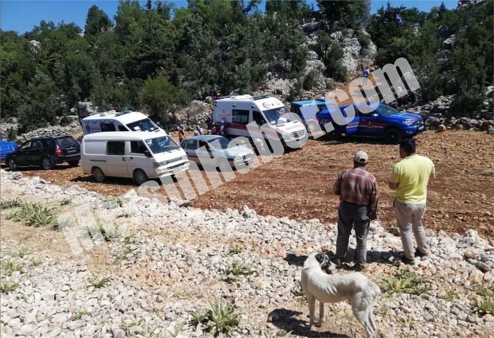 Mersin Gülnar Köseçobanlı Mahallesindeki Bir Dağ Evinde Genç Karı - Koca Ölü Olarak Bulundu