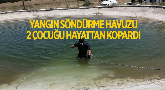 Osmaniye'de Serinlemek İçin Yangın Söndürme Havuzuna Giren 2 Çocuk Boğularak Hayatını Kaybetti