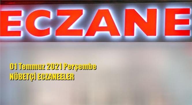 Mersin Nöbetçi Eczaneler 01 Temmuz 2021 Perşembe
