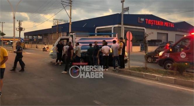 Mersin Tarsus'ta Yaşanan Kazada 3'ü Çocuk, 4 Kişi Yaralandı