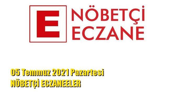Mersin Nöbetçi Eczaneler 05 Temmuz 2021 Pazartesi