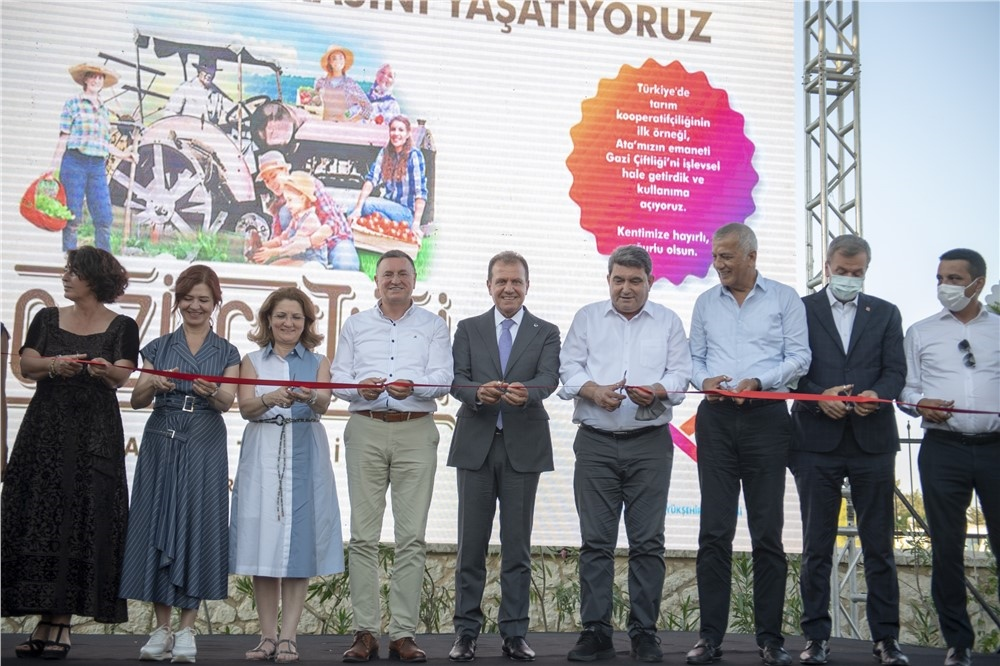 Mersin Büyükşehir'den Zakkum Fidesi Üreticilerine 'alım Garantisi'! Gazi Çiftliği Açılışında Zakkum Fidesi Alımı İçin Sözleşme İmzalandı