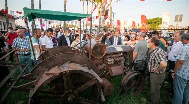 """Mersin Büyükşehir'den Zakkum Fidesi Üreticilerine """"Alım Garantisi"""", Gazi Çiftliği Açılışında Zakkum Fidesi Alımı İçin Sözleşme İmzalandı"""