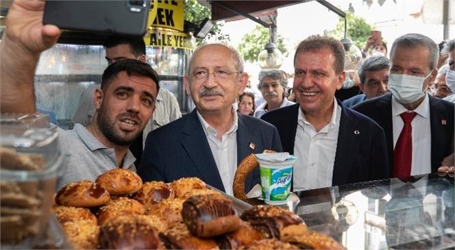 Mersinlilerden Kılıçdaroğlu'na Sevgi Seli