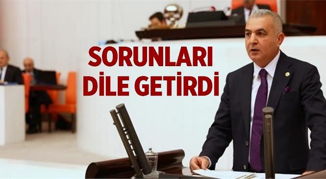 """Baki Şimşek"""" Nato Yolu Ssk Kavşağı Düzenlenmeli, Tarsus Şehir Stadı, Tarsus Kültür Merkezi ve Tarsus Kapalı Spor Salonu İnşaatları Yapılmalıdır"""""""