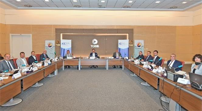 Tarsus TSO Başkanı Ruhi Koçak, TOBB Sosyal Tesislerinde Yapılan Icc Türkiye Milli Komitesi 66. ve 67. Genel Kurulu'na ve Ardından Yönetim Kurulu Toplantısına Katıldı