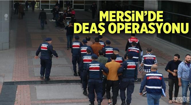 Mersin, Antalya ve Adana'da DEAŞ Operasyonu! Yakalanan 5 Kişiden 4'ü Tutuklandı, 1'i Adli Kontrol Şartıyla Serbest Bırakıldı