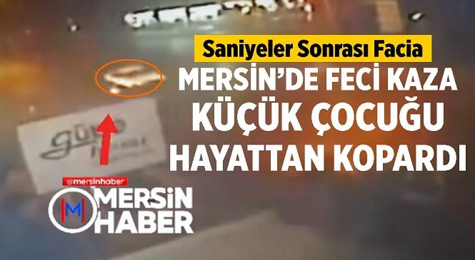 Mersin'in Yenişehir İlçesinde Feci Kaza! Gece Saatlerinde Farları Kaplı Otomobilin Çarptığı Bisikletli Çocuk Hayatını Kaybetti