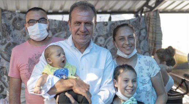 2019 Seçimleriyle Mersin Büyükşehir Belediye Başkanı Seçilen Vahap Seçer'e, Mersinlilerin Desteği Artarak Devam Ediyor.