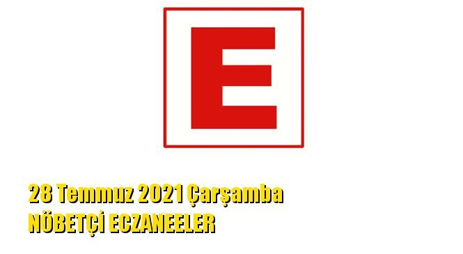 Mersin Nöbetçi Eczaneler 28 Temmuz 2021 Çarşamba
