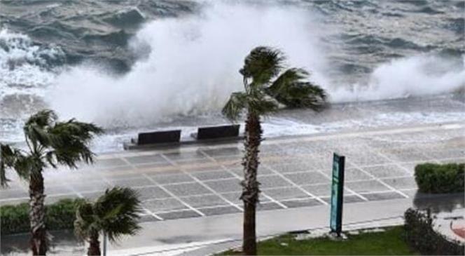 Meteoroloji Genel Müdürlüğü Akdeniz İçin Fırtına Uyarısında Bulundu