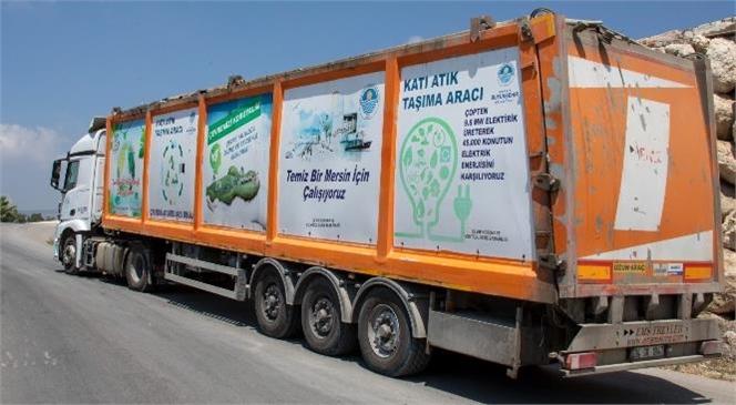 Mersin Büyükşehir, Bayramda 8 Bin 658 Ton Evsel Katı Atığı Taşıdı