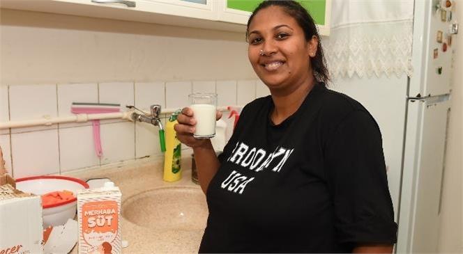 'Mersin Hamile Bakım Sütü' Projesi İle İlk Etapta 80 Bin Adet 1 Litrelik Süt Dağıtılacak