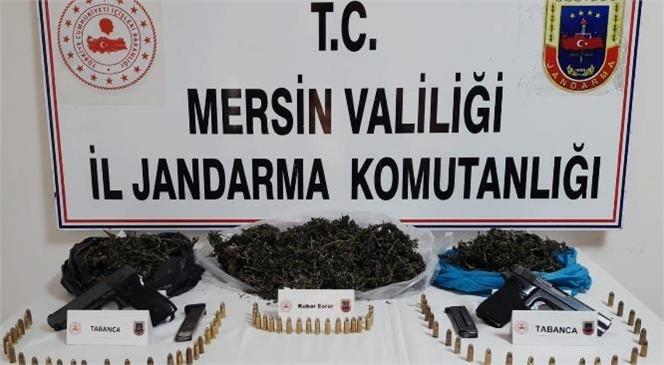 Mersin'de Uyuşturucu Madde İmal ve Ticaretini Yapan Şahıslara Operasyon
